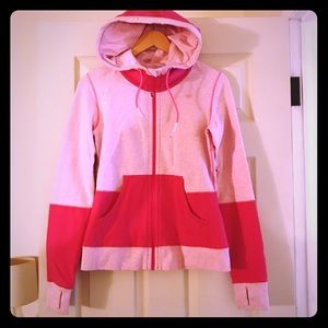 Lululemon Color Block Zip-Up Hoodie